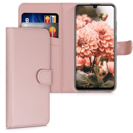KW PU Leather Wallet Case Huawei P Smart 2020 - Rose Gold (53289.81)