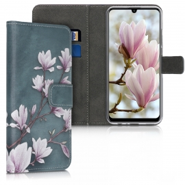 KW Wallet Case Huawei P Smart 2020 - Taupe / White / Blue Grey (52949.01)