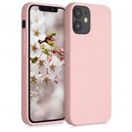 KW TPU Case Eco-Friendly Natural Wheat Straw Apple iPhone 12 Mini - Light Pink (52737.110)