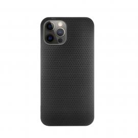 Vivid Case Liquid Air Apple iPhone 12 Pro Max - Black (VISILI140BK)