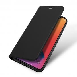 DuxDucis SkinPro Wallet Case iPhone 12 Pro Max - Black