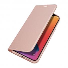 DuxDucis SkinPro Wallet Case iPhone 12 Pro Max - Pink