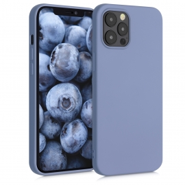 KW TPU Silicone Case iPhone 12 Pro Max - Blue Grey (52714.12)