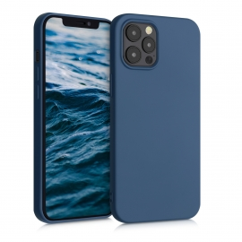 KW TPU Silicone Case iPhone 12 Pro Max - Dark Blue (52714.17)