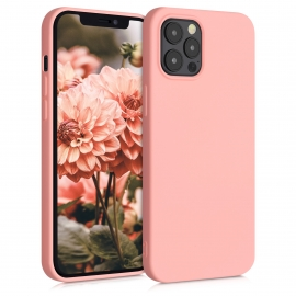 KW TPU Silicone Case iPhone 12 Pro Max - Light Pink Matte (52714.123)