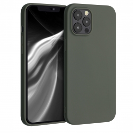 KW TPU Silicone Case iPhone 12 Pro Max - Olive Green Matte (53045.101)