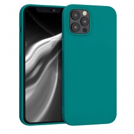 KW TPU Silicone Case iPhone 12 Pro Max - Teal Matte (53045.57)