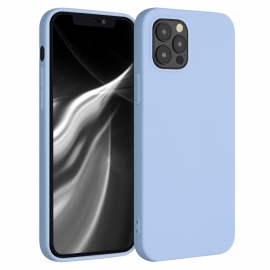KW TPU Silicone Case iPhone 12 / 12 Pro - Light Blue Matte (53043.58)