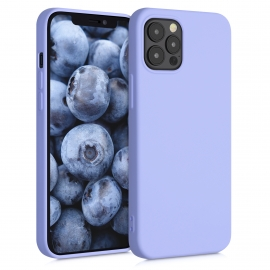 KW TPU Silicone Case iPhone 12 / 12 Pro - Light Lavender (52712.139)