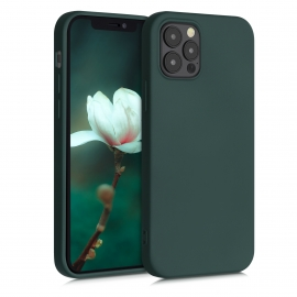 KW TPU Silicone Case iPhone 12 / 12 Pro - Moss Green (52712.169)
