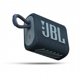 JBL Bluetooth Speaker GO3 Waterproof - Blue (JBLGO3BLU)