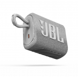 JBL Bluetooth Speaker GO3 Waterproof - White (JBLGO3WHT)