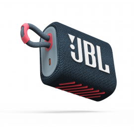JBL Bluetooth Speaker GO3 Waterproof - Blue Pink (JBLGO3BLUP)