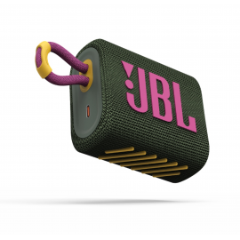 JBL Bluetooth Speaker GO3 Waterproof - Green (JBLGO3GRN)