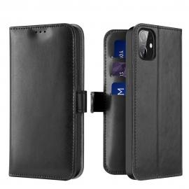 Dux Ducis Kado Bookcase wallet type case iPhone 12 Mini - Black