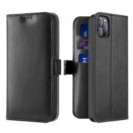 Dux Ducis Kado Bookcase wallet type case iPhone 12 Pro Max - Black