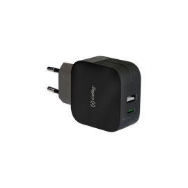 Celly Wall Charger 2 Port Usb Type-C Black (TCTYPECUSBBK)