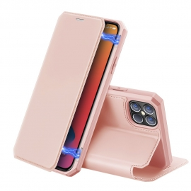 DuxDucis Skin X Bookcase iPhone 12 Pro Max - Pink