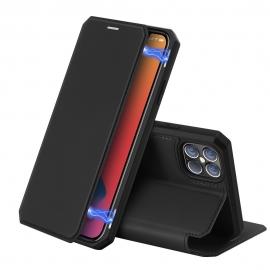 DuxDucis Skin X Bookcase iPhone 12 Pro Max - Black