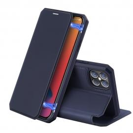 DuxDucis Skin X Bookcase iPhone 12 Pro Max - Blue