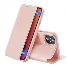 DuxDucis Skin X Bookcase iPhone 12 Mini - Pink