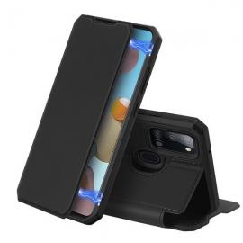 DuxDucis Skin X Bookcase Samsung Galaxy A21s - Black
