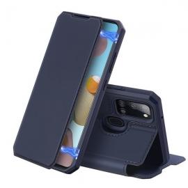 DuxDucis Skin X Bookcase Samsung Galaxy A21s - Blue