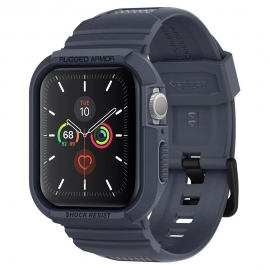 Spigen Rugged Armor Pro Apple Watch 4/5 (44mm) - Charcoal Grey (ACS00819)
