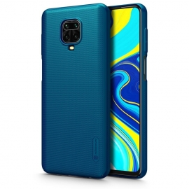 Nillkin Super Frosted Shield Case & kickstand Xiaomi Redmi Note 9S / 9 Pro - Blue