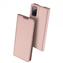Dux Ducis Skin Pro Bookcase Samsung Galaxy S20 FE - Rose Gold