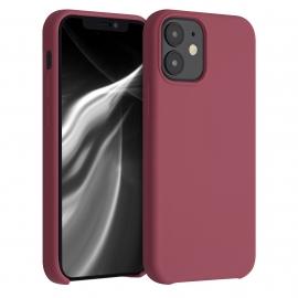 KW TPU Soft Flexible Rubber iPhone 12 Mini - Maroon Red (52640.160)