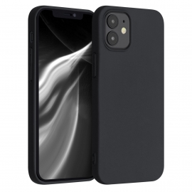 KW TPU Soft Flexible Rubber iPhone 12 Mini - Black Matte (53042.47)