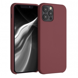 KW TPU Soft Flexible Rubber iPhone 12 / 12 Pro - Maroon Red (52641.160)