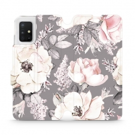 Mobiwear Wallet Stand Case Samsung Galaxy A41 - Faded (MX06R)