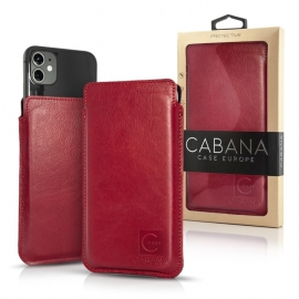 "Cabana Slim Up Universal Pouch Case 6,5"" - Red"