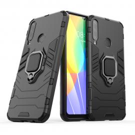 OEM Ring Kickstand Armor Huawei Y6p - Black