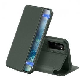 DuxDucis Skin X Bookcase Samsung Galaxy S20 - Green