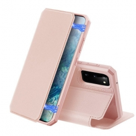DuxDucis Skin X Bookcase Samsung Galaxy S20 - Pink
