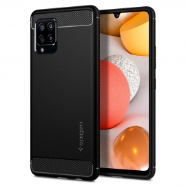 Spigen Rugged Armor Samsung Galaxy A42 5G - Black (ACS02113)