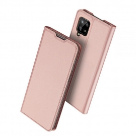 DuxDucis SkinPro Bookcase Samsung Galaxy A42 5G - Rose Gold