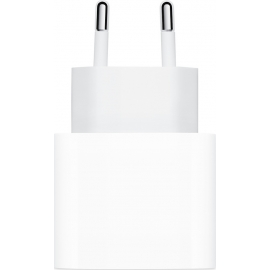 Apple 20W USB-C Power Adapter - White (MHJE3ZM/A)