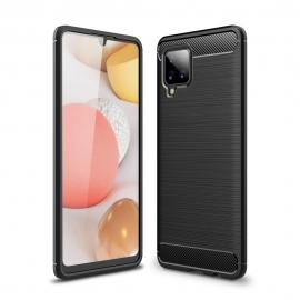 Tech-Protect TPU Carbon Case Samsug Galaxy A42 5G - Black