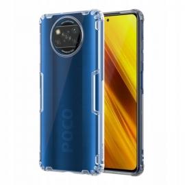 Nillkin Nature TPU Case Gel Ultra Slim Xiaomi Poco X3 NFC - Transparent