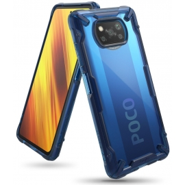 Ringke Fusion-X Xiaomi Poco X3 NFC - Space Blue