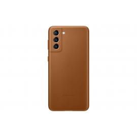 Samsung Leather Cover Galaxy S21 Plus - Brown (EF-VG996LAEGWW)