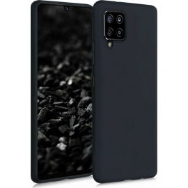 KW TPU Silicone Case Samsung Galaxy A42 5G - Black Matte (53804.47)