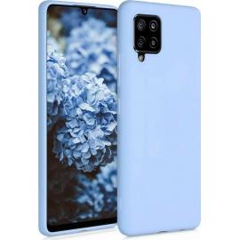 KW TPU Silicone Case Samsung Galaxy A42 5G - Light Blue Matte (53804.58)