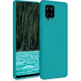 KW TPU Silicone Case Samsung Galaxy A42 5G - Teal Matte (53804.57)