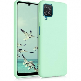 KW TPU Silicone Case Samsung Galaxy A12 - Mint Matte (54048.50)