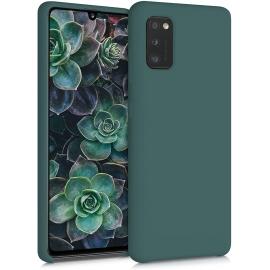 KW TPU Soft Flexible Rubber Samsung Galaxy A41 - Moss Green (52301.169)